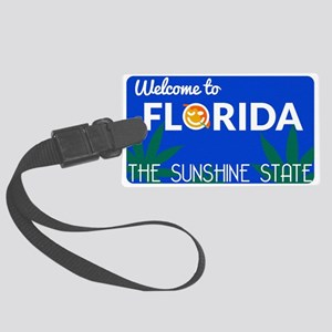 Welcome to Florida Large Luggage Tag
