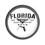 Florida Cannabis Wall Clock