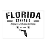 Florida Cannabis Postcards (Package of 8)