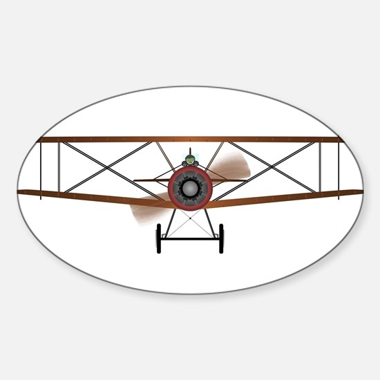 Biplane Decal