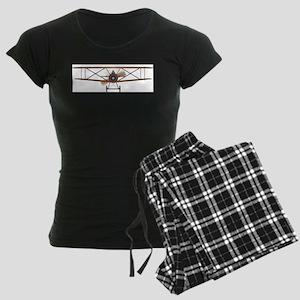 Biplane Women's Dark Pajamas
