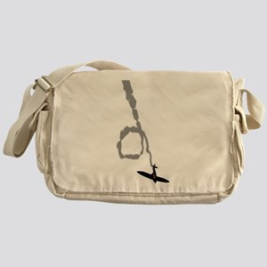 Spiraling Down Messenger Bag