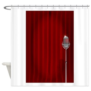 Stand Up Comedy Shower Curtains