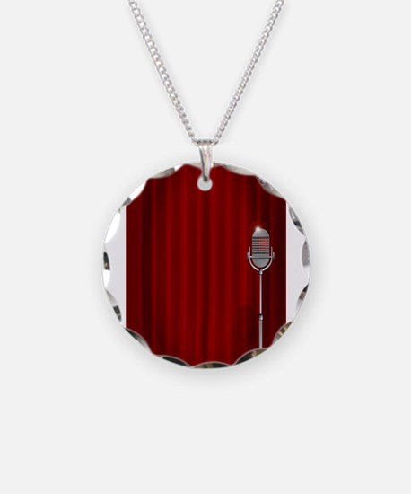 Stand Up Night Curtain Necklace