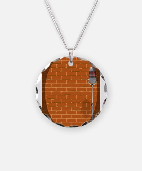 Stand Up Night Wall Necklace