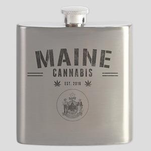 Maine Cannabis Flask