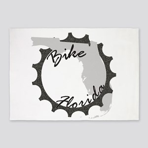 Bike Florida 5'x7'Area Rug