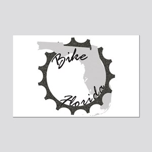 Bike Florida Mini Poster Print