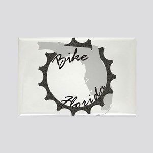 Bike Florida Rectangle Magnet