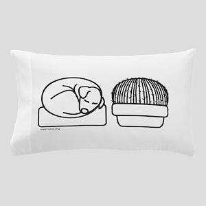 Cactus dog Pillow Case