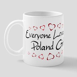 Poland Girl Mug