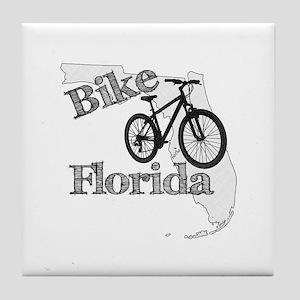 Bike Florida Tile Coaster