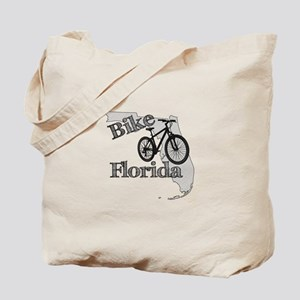 Bike Florida Tote Bag