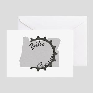 Bike Oregon Greeting Card