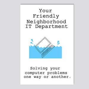 Your Friendly Neighbhood IT D Postcards (Package o