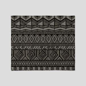 Tribal Pattern Throw Blanket