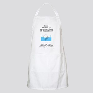 Your Friendly Neighbhood IT D BBQ Apron