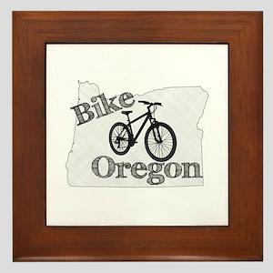 Bike Oregon Framed Tile