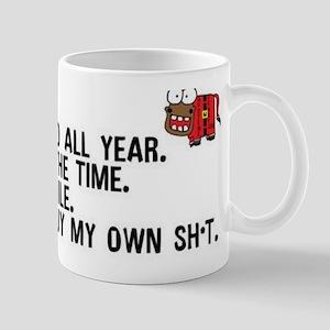 Dear Santa..adult humor Mugs