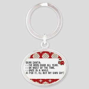 Dear Santa..adult humor Keychains