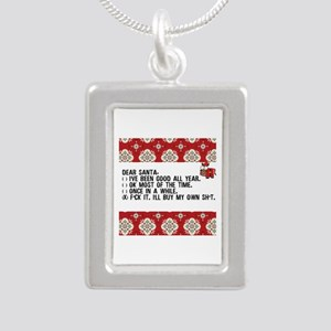 Dear Santa..adult humor Necklaces