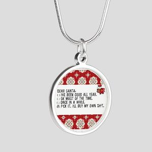 Dear Santa..adult humor Necklaces