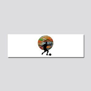THE MOVES Car Magnet 10 x 3