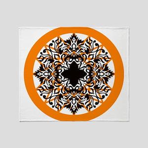 Zen art Throw Blanket