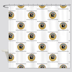 But The Pit Bull Shower Curtain