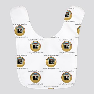But The Pit Bull Polyester Baby Bib