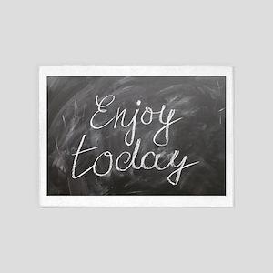 Enjoy Today 5'x7'Area Rug