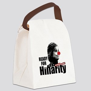 Ready for Hillarity Canvas Lunch Bag