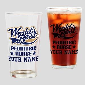 Pediatric Nurse Personalized Gift Drinking Glass