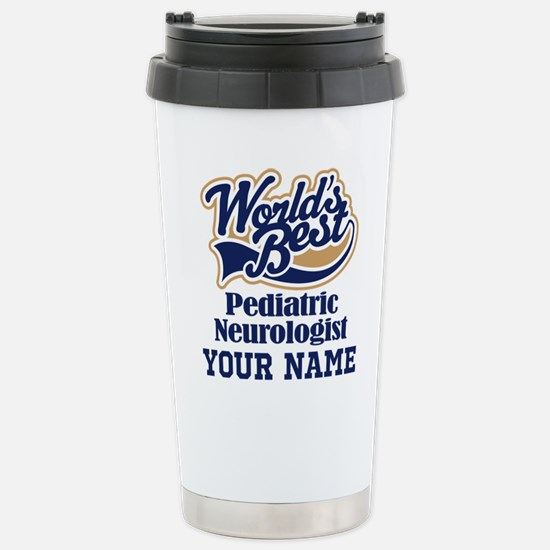 Pediatric Neurologist Personalized Gift Travel Mug