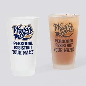 Personal Assistant Personalized Gift Drinking Glas
