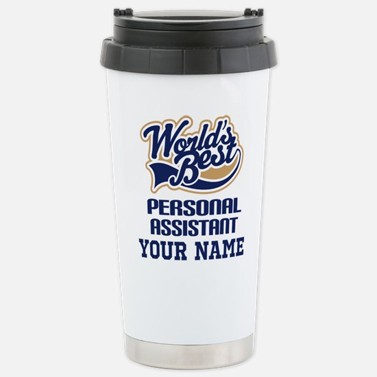 Personal Assistant Personalized Gift Travel Mug