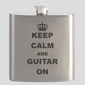 KEEP CALM AND GUITAR ON Flask