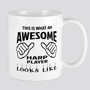 This is what an awesome Harp player loo Mug