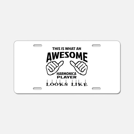 This is what an awesome har Aluminum License Plate