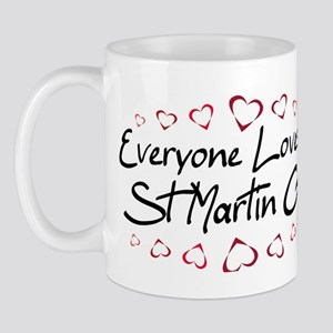 St Martin Girl Mug