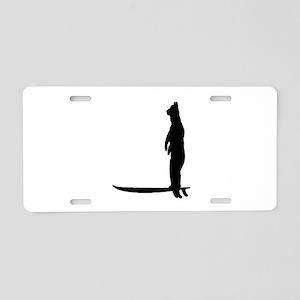 BEAR SURF Aluminum License Plate