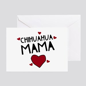 Chihuahua Mama Greeting Card