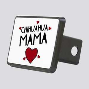Chihuahua Mama Rectangular Hitch Cover