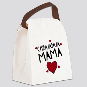 Chihuahua Mama Canvas Lunch Bag