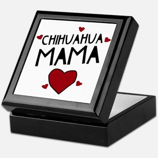 Chihuahua Mama Keepsake Box