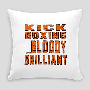Kickboxing Bloody Brilliant Design Everyday Pillow