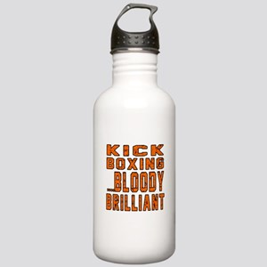 Kickboxing Bloody Bril Stainless Water Bottle 1.0L