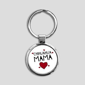 Chihuahua Mama Keychains