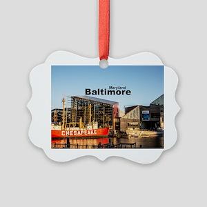 Baltimore Picture Ornament