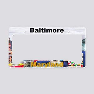 Baltimore License Plate Holder